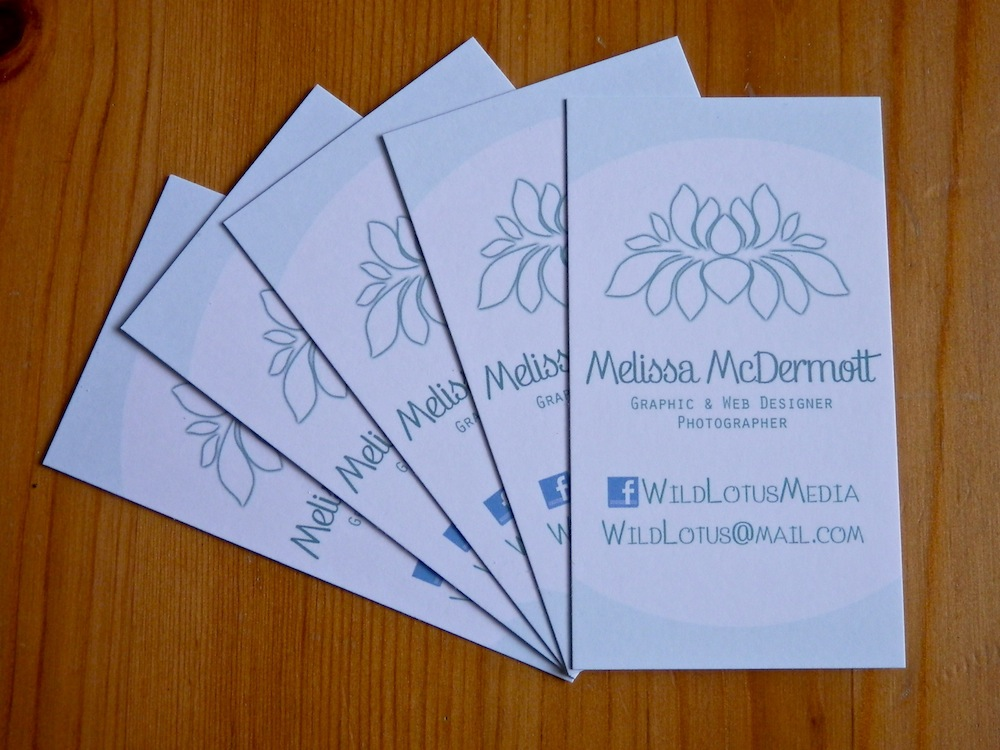 Business cards vistaprint vs morning print wild lotus media business cards vistaprint vs morning print colourmoves